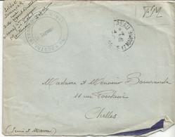 PY / Enveloppe Et Correspondance CHELLES MONTEREAU Soldat 1945 Centre D'instruction C.O.M.A Militaria - Manuscripts