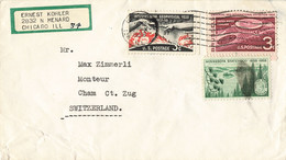 Brief In Die Schweiz (ab0377) - Covers & Documents