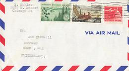 Brief In Die Schweiz (ab0383) - Covers & Documents