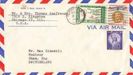 Brief In Die Schweiz (ab0384) - Covers & Documents