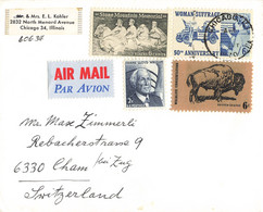 Brief In Die Schweiz (ab0386) - Covers & Documents