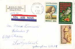 Brief In Die Schweiz (ab0388) - Briefe U. Dokumente