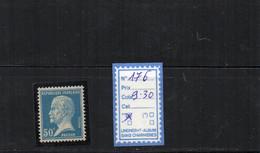 FRANCE LUXE ** 176 - 1922-26 Pasteur