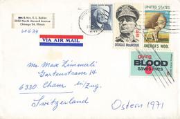 Brief In Die Schweiz (ab0391) - Briefe U. Dokumente