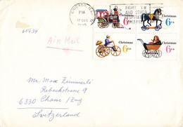 Brief In Die Schweiz (ab0392) - Briefe U. Dokumente