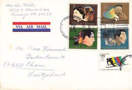 Brief In Die Schweiz (ab0393) - Briefe U. Dokumente