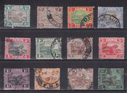 FEDERATED MALAY STATES 1901/1922 LOT USED Up To 50C - Federated Malay States