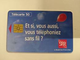 TELECARTE FRANCE TELECOM  50  SFR - Operadores De Telecom