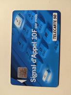 TELECARTE FRANCE TELECOM  50 SIGNAL D4APPEL - Operadores De Telecom