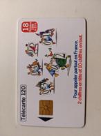 TELECARTE FRANCE TELECOM  120 NUMEROTATION A 10 CHIFFRES - Operadores De Telecom
