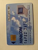 TELECARTE FRANCE TELECOM  120 MINICOM MINITEL 3612 - Advertising