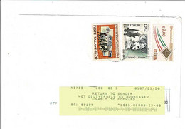 11379- From Italy To United States, USA, Returned To Sender Cause Covid19 Emergency. Sent 23th June, 2020 Date Of Return - Postal History