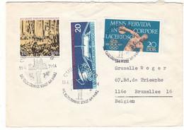 Allemagne - République Démocratique - Lettre De 1971 - Oblit Quetlinburg - Jeux Olympiques - Espace - - Briefe U. Dokumente