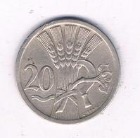 20 HALLER  1928  TSJECHOSLOWAKIJE /8048/ - Czechoslovakia