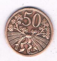 50 HALLER  1947  TSJECHOSLOWAKIJE /8049/ - Czechoslovakia