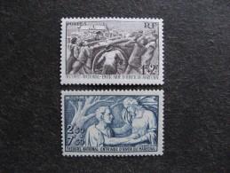 TB Paire N° 497 Et N° 498, Neufs XX. - Unused Stamps