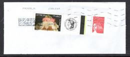 Timbre Personnalisé C'est Un Garçon - Oblitéré Sur Fragment - Personalized Stamps