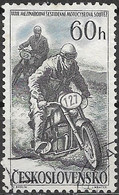 CZECHOSLOVAKIA 1957 Sports Events Of 1957 - 60h - Motorcyclists (32nd International Motorcycle Six-Day Trial) FU - Used Stamps