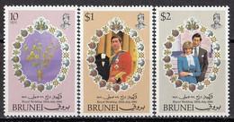 BRUNEI 252-254,unused - Brunei (...-1984)