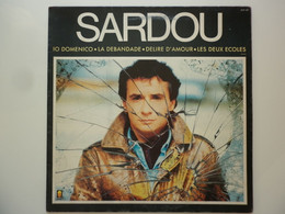 Michel Sardou 33Tours Vinyle Io Domenico - Unclassified