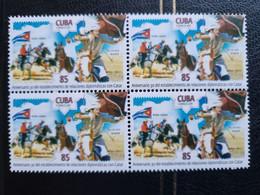 CUBA NEUF 2019//  CUBA   CATAR  85c// 1er Choix // BLOC DE 4 - Unused Stamps