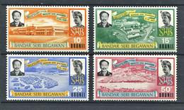 264 BRUNEI 1972 - Yvert 176/79 - Capitale Bandar Batiment - Neuf ** (MNH) Sans Trace De Charniere - Brunei (...-1984)