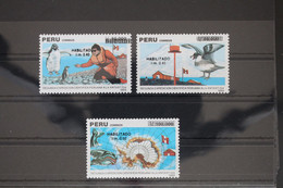 Peru 1446-1448 ** Postfrisch #WY717 - Pérou