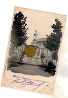 MILANO MONUMENTO A LEONARDO DA VINCI Viaggiata 1898 - Milano (Milan)