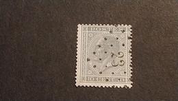 "N 17  Afst./obl.  "" 23 ""  "" AVELGHEM "" - 1865-1866 Profil Gauche"
