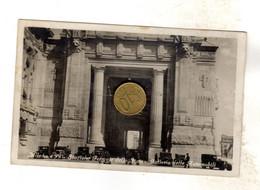 MILANO STAZIONE FERROVIARIA CON TAXI CARROZZE Viaggiata 1931 VEDI RETRO - Milano (Milan)