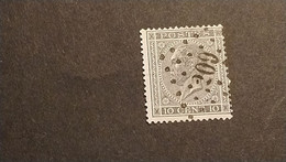 "N 17  Afst./obl.  "" 209 ""  "" LA ROCHE "" - 1865-1866 Profil Gauche"