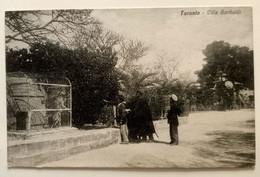 PUGLIA TARANTO VILLA GARIBALDI Formato Piccolo - Scritta Ma Non Viaggiata (1917) - Bella Animazione Di Persone Davanti A - Taranto