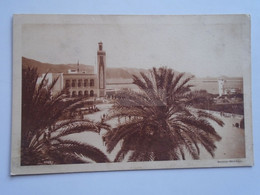 D185082 Algeria Algerie  Philippeville (Constantine)   L'Hotel De Villeet  La Rade - Constantine