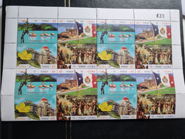CUBA NEUF 2019 // 200 ANS CREATION DE CIENFUEGOS 40,45,65,75c HE // 1er CHOIX// BLOC DE 4 - Unused Stamps