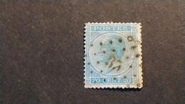 """N 18  Afst./obl.  """" 35 """"  """" BELOEIL """" - 1865-1866 Profil Gauche"""