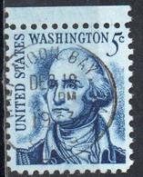 United States, 1965/78 - 5 Cents  Washington - Nr.1283 Usato° - Used Stamps