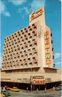 Fremont Hotel & Casino : Downtown Las Vegas (CPA Voyagé 1958) - Las Vegas