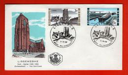 BELGIUM, 1968, Mint FDC,  Lissewege, SG Nrs. 2089-2099,  Scan Nr. F506 - Briefe U. Dokumente