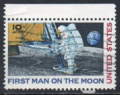 United States, 1969 - 10c First Man On The Moon - Nr.C76 Usato° - 3a. 1961-… Used