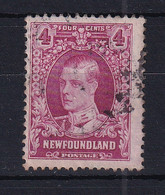 Newfoundland: 1931   Publicity Issue [Perkins, Bacon] [with Wmk]  SG201     4c      Used - 1908-1947