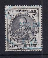 Newfoundland: 1933   350th Anniv Of Humphrey Gilbert's Annexation  SG236   1c    Used - 1908-1947