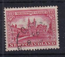 Newfoundland: 1933   350th Anniv Of Humphrey Gilbert's Annexation  SG239   4c    Used - 1908-1947