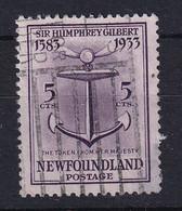Newfoundland: 1933   350th Anniv Of Humphrey Gilbert's Annexation  SG240   5c    Used - 1908-1947