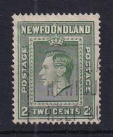 Newfoundland: 1938   KGVI    SG268   2c   [Perf: 13½]   Used - 1908-1947
