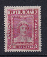 Newfoundland: 1938   Queen Mother    SG269   3c   [Perf: 13½]   Used - 1908-1947