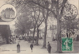 LA FLECHE  Boulevard St Germain - La Fleche