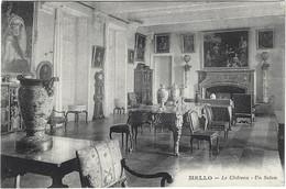 60 Cires Les Mello -   Chateau De Mello -  Le Salon - Other Municipalities