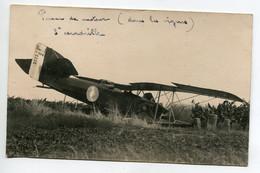 AVIATION NEUSTADT 036  Régim 12 Em RAB CARTE PHOTO Avion 3 Em Escadrille Accident Panne Moteur Dans Le Svignes - Sin Clasificación