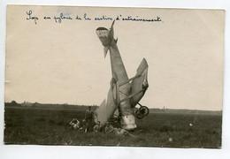 AVIATION NEUSTADT 038  Régim 12 Em RAB CARTE PHOTO Avion Sop Accident En Pylone Section D'Entrainement - Sin Clasificación