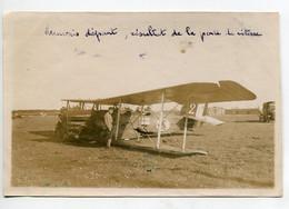AVIATION NEUSTADT 042- Régim 12 Em RAB PHOTOGRAPHIE 13,9 X 9 ,2  Accident Avion Capitaine Pinsolle Mauvais Départ - Sin Clasificación